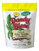 Dandy Blend Herbal Beverage (Healthy coffee alternative) *14 oz