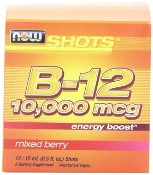 B-12 Shots 8 liquid vials-10,000 mcg